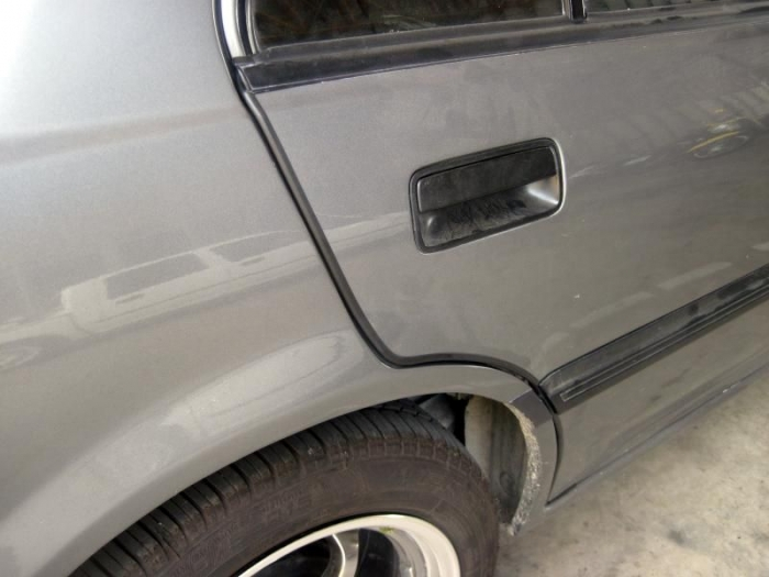 Black Flat Quot U Quot Style Car Door Guards Sold By The Foot